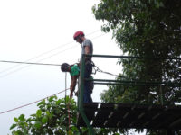 Ziplining, El Monte Sustainable Lodge, Mindo