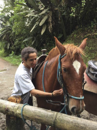 Horseback Ridiing, El Monte Sustainable Lodge, Mindo