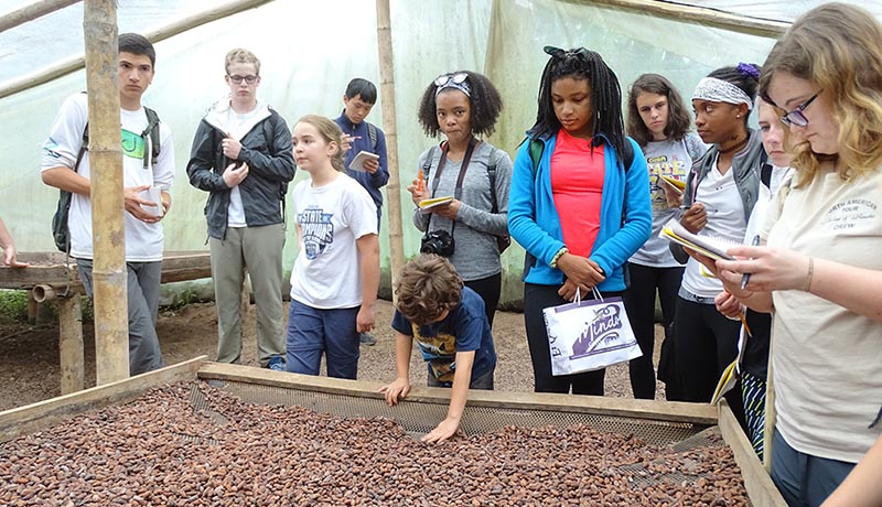 Chocolate factory tour, Mindo, El Monte Sustainable Lodge