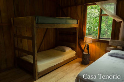 sleeping accomodations at Casa Tenorio El Monte Sustainable Lodge