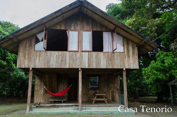 From view of Casa Tenorio Bolicar Ecuador El Monte Sustainable Lodge