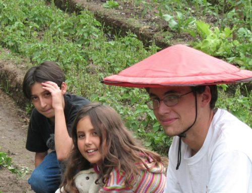Julia, Lincoln Scott and Samuelito Tenorio