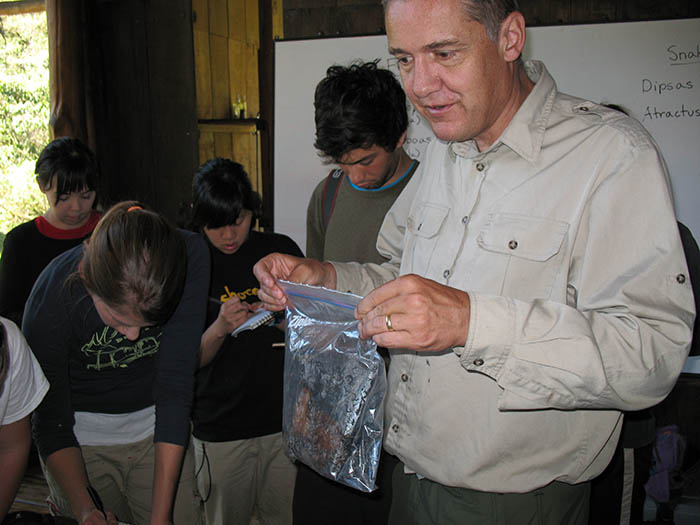 Visiting Herpetologist, El Monte Sustainable Lodge, Mindo Ecuador