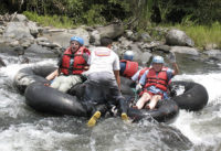 White-water Tubing, Mindo Ecuador, El Monte Sustainable Lodge