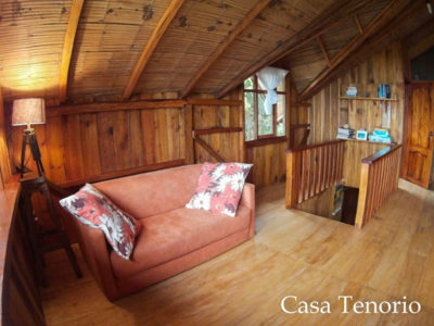 Sitting Room Casa Tenorio Bolivar Ecuador