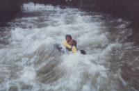 White-water Tubing, El Monte Sustaiinable Lodge, Mindo Ecuador